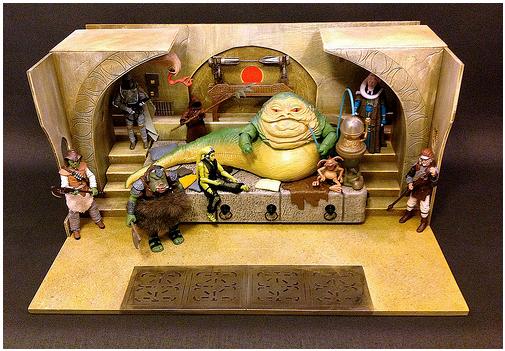 Star Wars Diorama Jabba