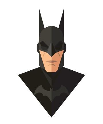 Flat Design - Batman