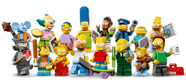 Simpsons LEGO Minifigs - featured