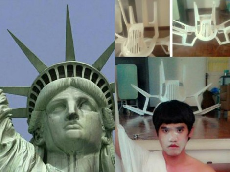 Low cost Cosplay - Statue of Liberty