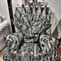 Iron Throne Chair Retro Rocker Rule The Seven Kingdoms Of Your Home In This