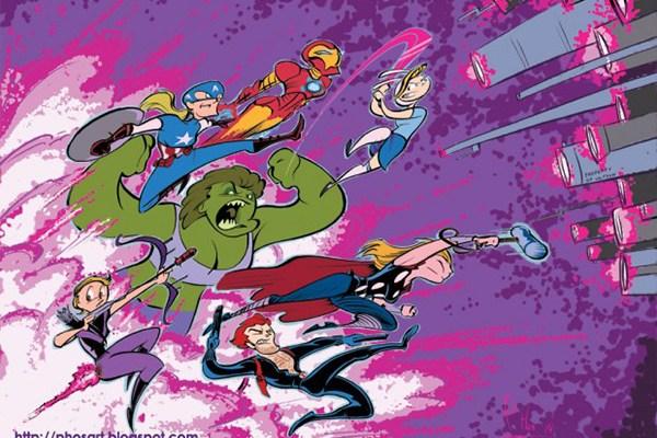 Adventure Time Avengers