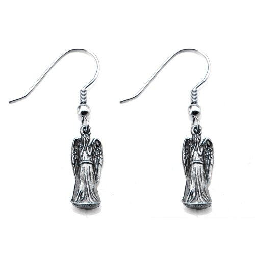 weeping angels earrings