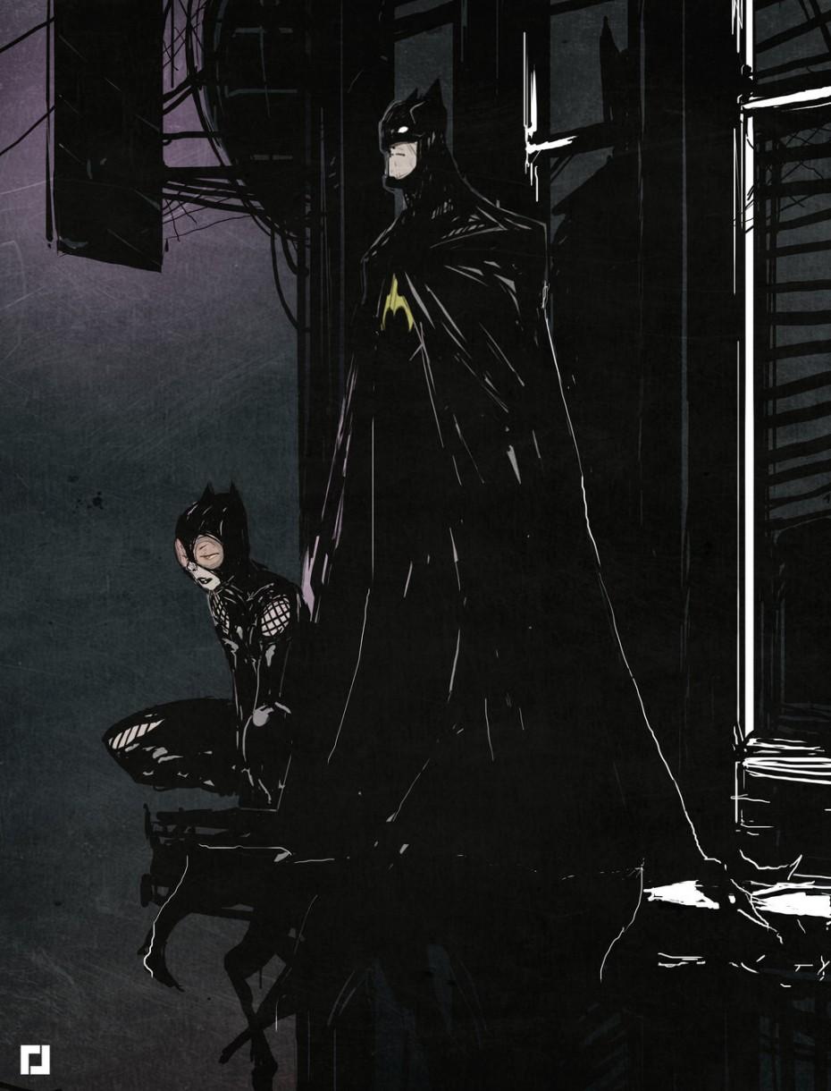 best batman fan art