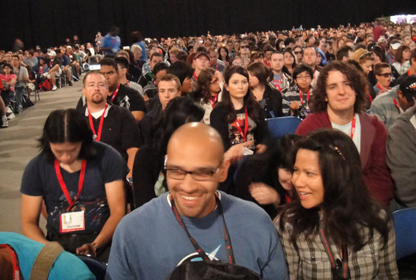 Comic-Con Hall H crowd