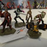 SDCC 2014 Disney Infinity Marvel Guardians of the Galaxy figures