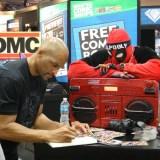SDCC 2014 - DMC signs with Deadpool