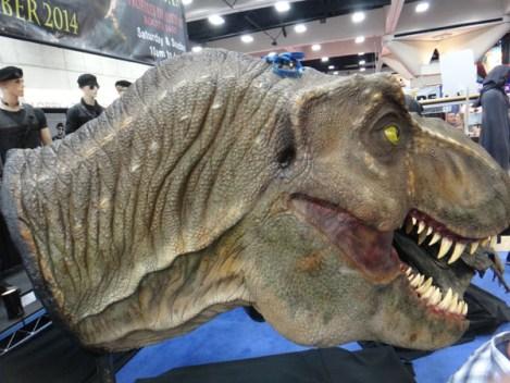 SDCC 214 - original Jurassic Park T-Rex head