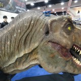 SDCC 214 - original Jurassic Park T-Rex head