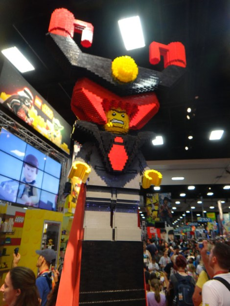 SDCC 214 - LEGO Movie Lord Business