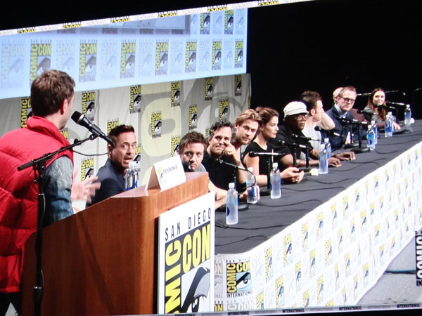 SDCC 2014 - Marvel Avengers Age of Ultron cast