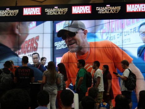 SDCC 2014 - Guardians of the Galaxy Michael Rooker