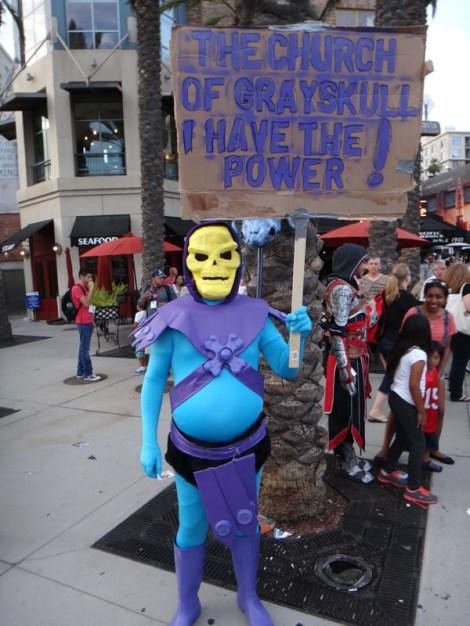 SDCC 2014 - Skeletor has the power