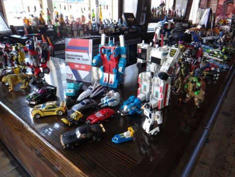 SDCC 214 - Transformers through the years