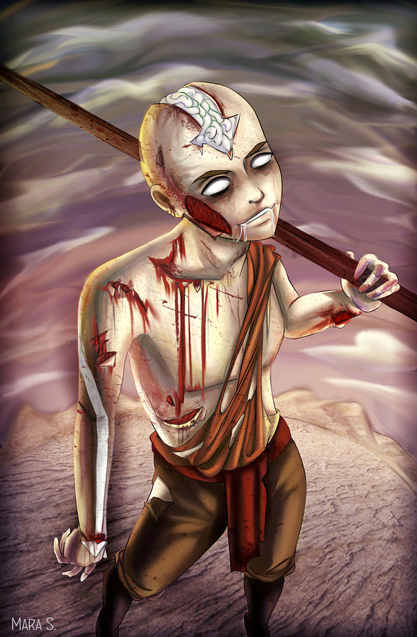 Avatar_Monsters__Zombie_Aang_by_Acaciathorn