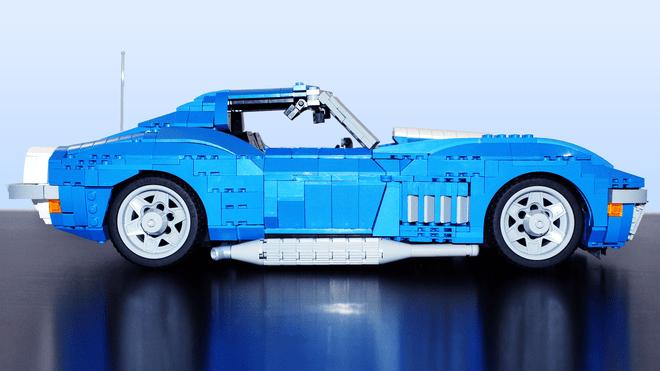1969 Chevrolet Corvette LEGO