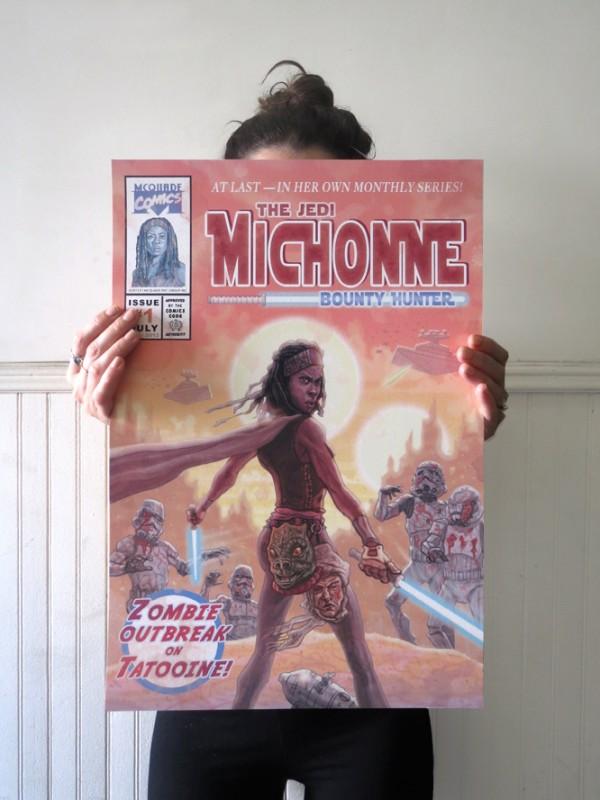 Michonne-Walking-Dead-Star-Wars-Jedi-PJ-McQuade-1-600x800