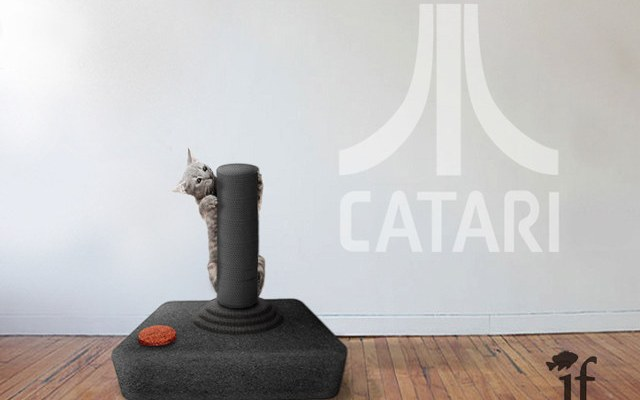 video game cat scratchers