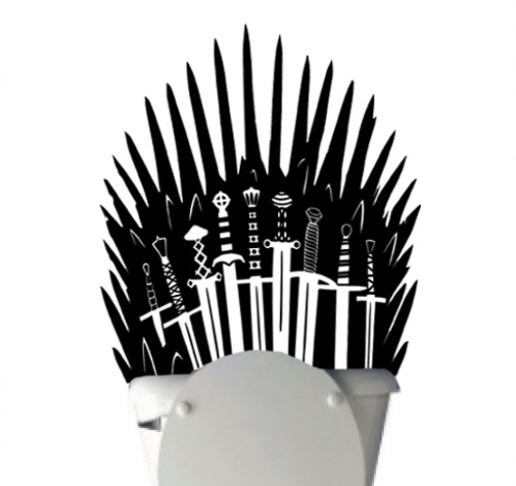 Iron Throne Decal