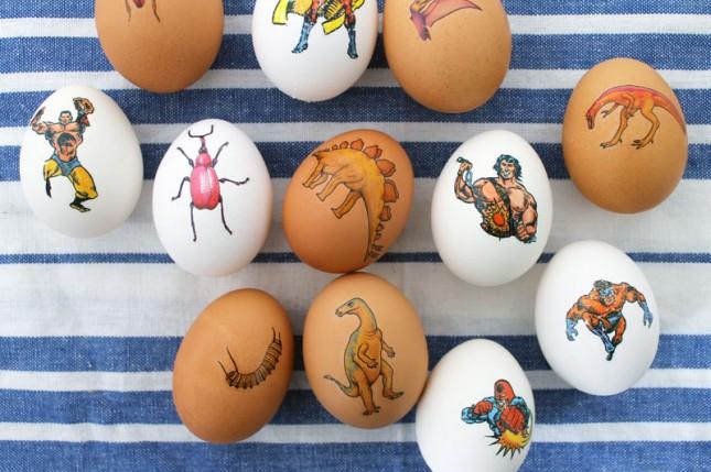 geeky easter egg ideas