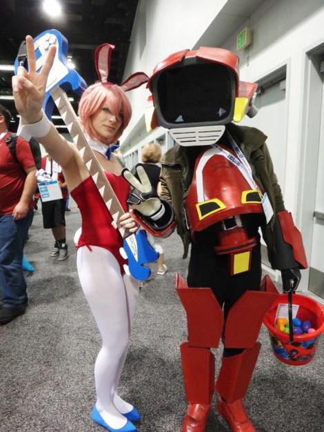 WonderCon Anaheim 2015 FLCL Haruko and Canti