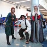 WonderCon Anaheim 2015 The Hobbit - Tauriel, Bilbo, Thranduil