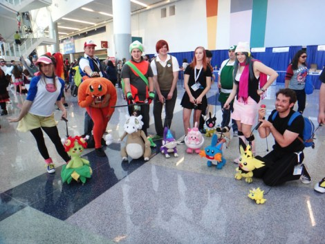 WonderCon Anaheim 2015 Pokemon and their trainers