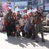 WonderCon Anaheim 2015 Walking Dead Easter bunnies