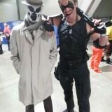 Long Beach Comic Expo 2015 - Watchmen Rorschach and the Comedian