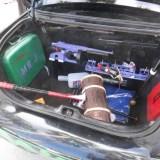Long Beach Comic Expo 2015 - The Joker's stolen police car trunk
