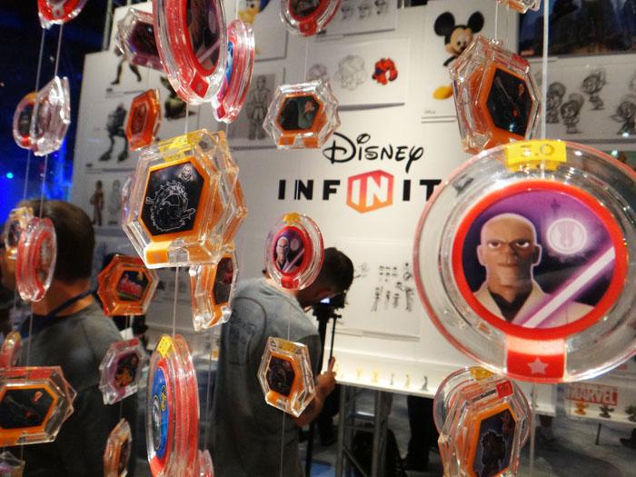 E3 2015 Disney Infinity discs