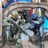 E3 2015 Halo statues