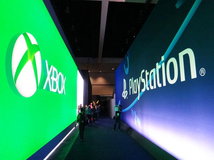 E3 2015 Xbox Playstation