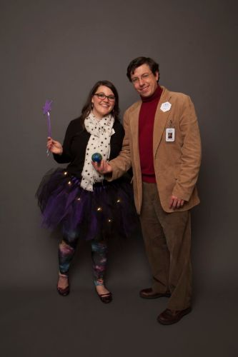 Carl Sagan costume