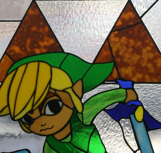 geeky stained glass