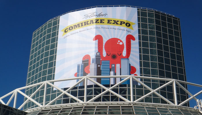 Comikaze 2015 banner