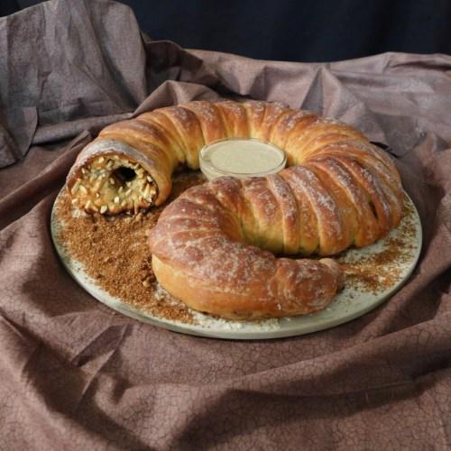 dune Spice-stuffed Sandworm Bread