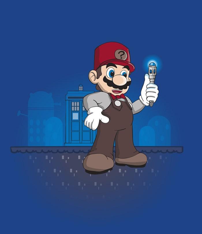 Mario Doctor Who