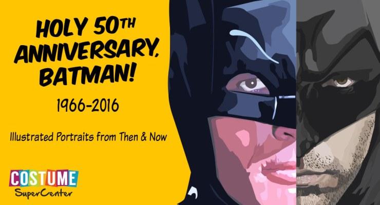 50 years of batman