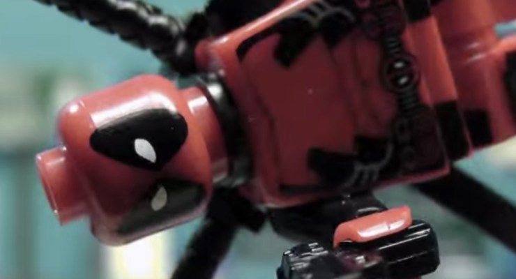 LEGO Deadpool Red Band trailer