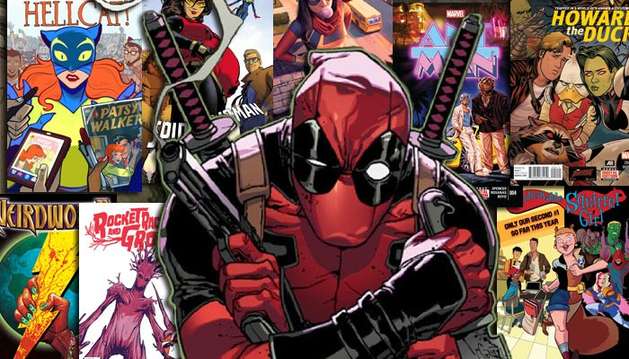 10 Funny Marvel Comics Deadpool