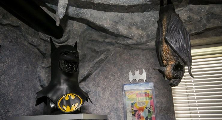 batman fan's cave