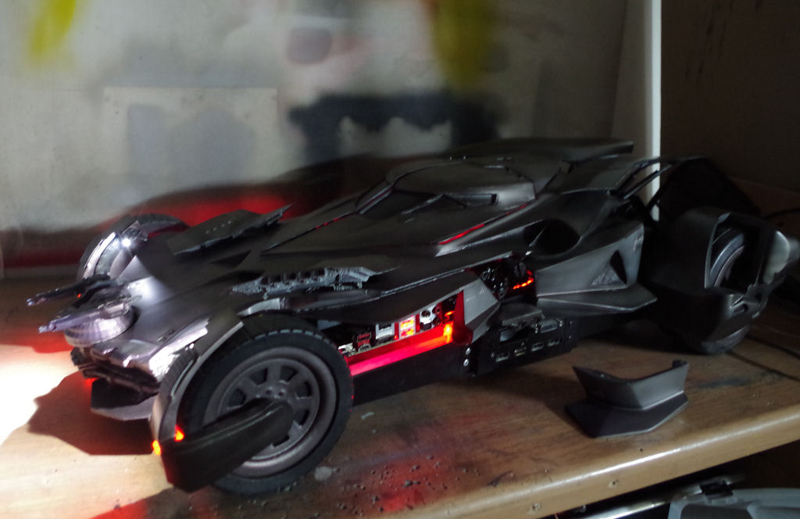 batmobile pc case mod