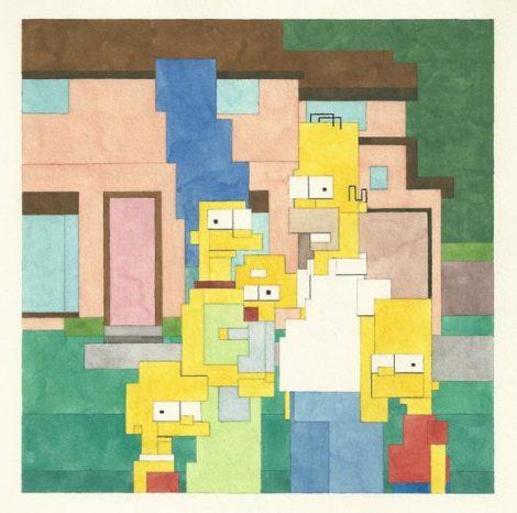 8-bit paintings