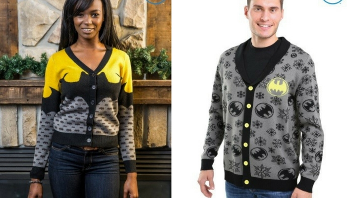 batman cardigan giveaway