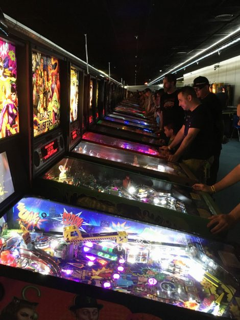 Arcade Expo 3.0 - pinball players