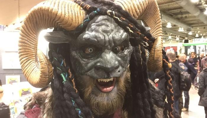 Calgary Expo 2017 - cosplay Krampus