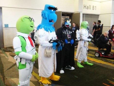 Star Wars Celebration Orlando 2017 - Muppet Troopers