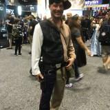 Star Wars Celebration Orlando 2017 - split Han Solo and Indiana Jones
