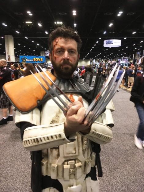 Star Wars Celebration Orlando 2017 - Wolverine trooper